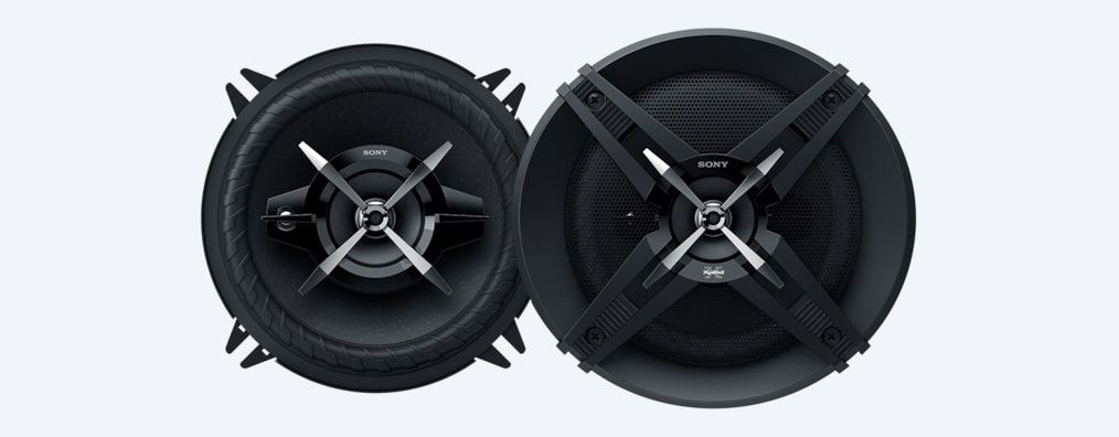 "Images of 13cm (5.1"") 3-Way High Power Coaxial Speakers"