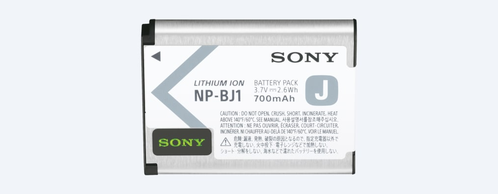 Images de Batterie rechargeable de type J NP-BJ1