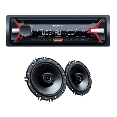 "Picture of CD Receiver with 16cm (6x9"") Speakers"