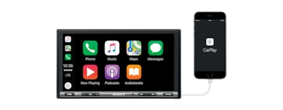 Images of 17.6 cm (6.95 inch) Apple CarPlay Media Receiver