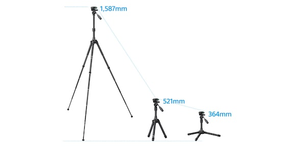 The right height for all your shots