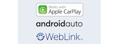 Apple Carplay, Android Auto and weblink™