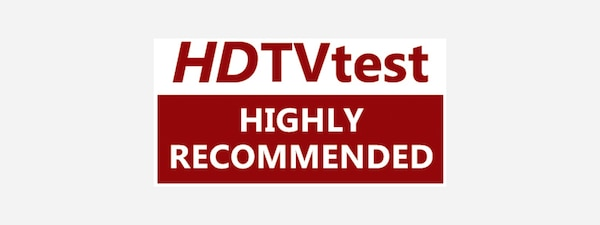 TV altamente recomendada do HDTVtest