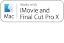 Logótipo iMovie e Final Cut Pro X