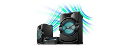 Images of High Power Home Audio System with DVD