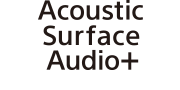 Logótipo Acoustic Surface Audio+