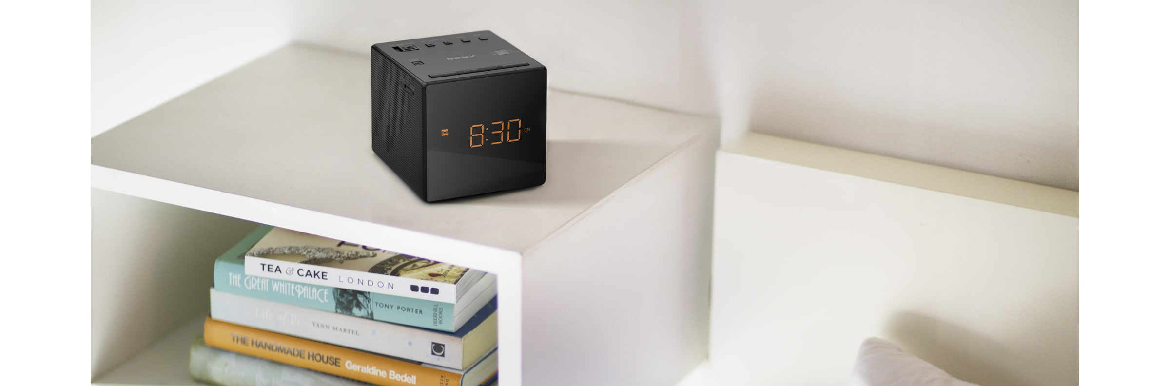Clock Radio in action