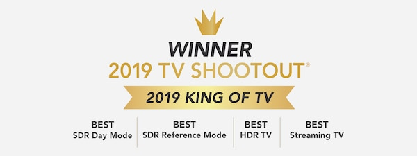 "Vencedora do prémio ""King of TV"" de 2019"