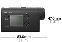 Imagem de Action Cam HDR-AS50R com telecomando Live-View