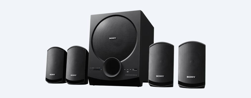 Images de Enceinte satellite Home Cinema 4.1 canaux