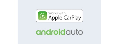 Logos Apple CarPlay et Android Auto