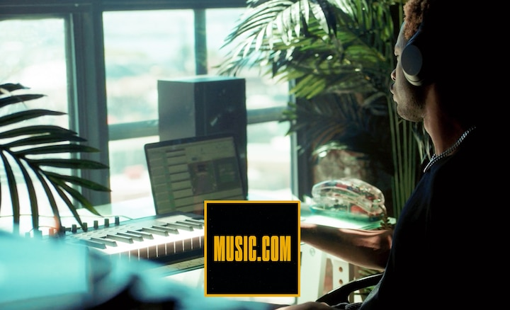 Music.com producer at work