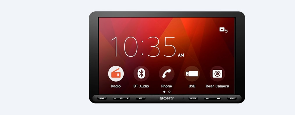 "Images of 8.95"" (22.7cm) Media Receiver with Bluetooth®"