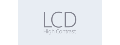 LCD High-contrast icon