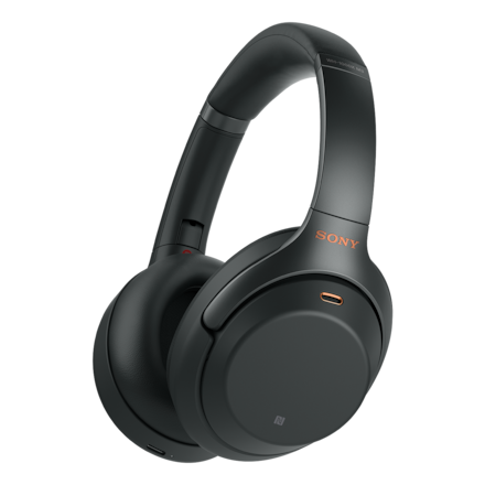 Image de Casque sans fil à réduction de bruit WH-1000XM3