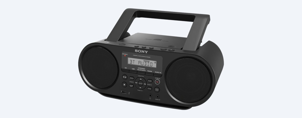 Images de Boombox CD avec Bluetooth®